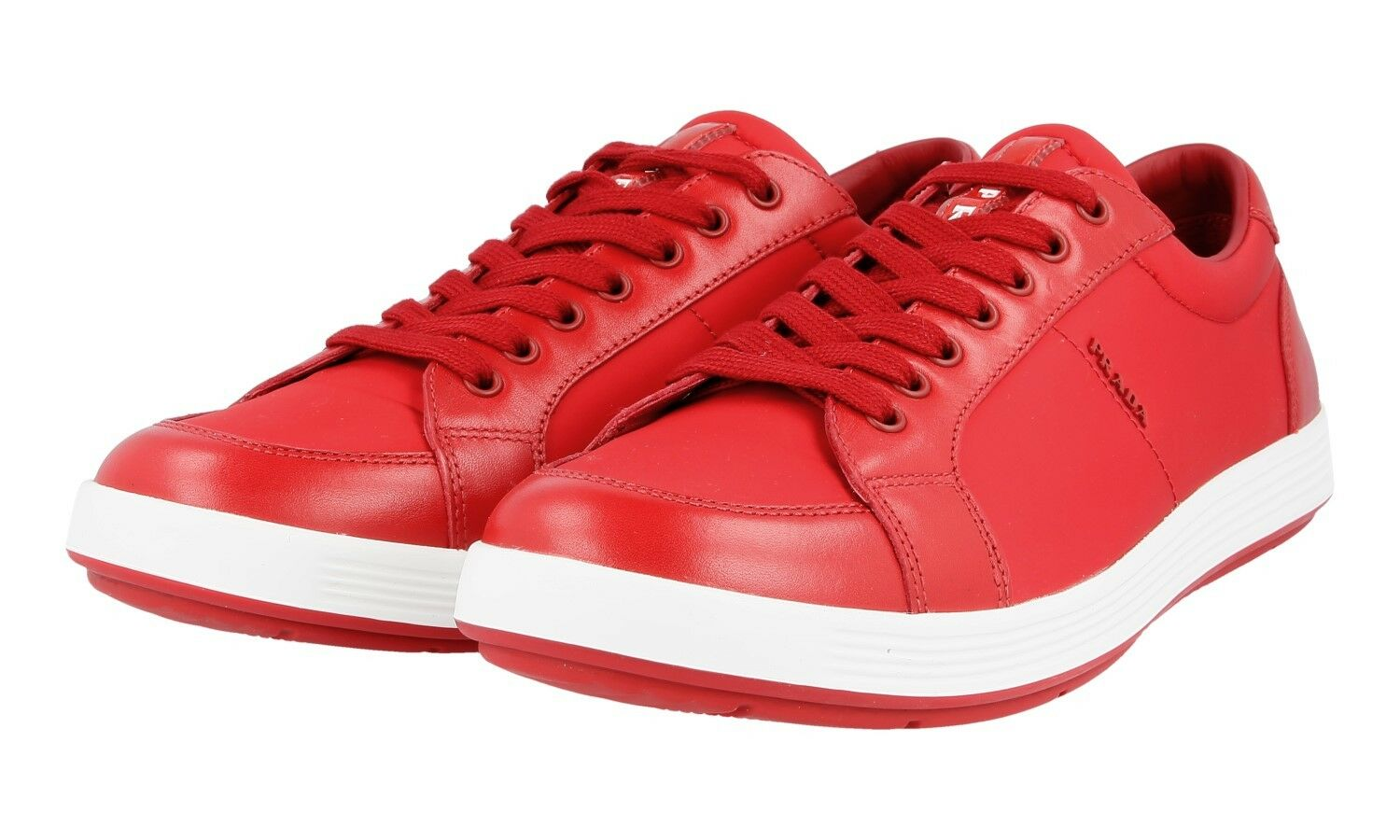 shoes PRADA LUSSO 4E2939 red NUOVE 6 40 40,5