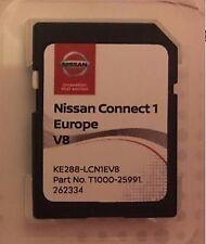 GENUINE NISSAN CONNECT 1 SAT NAV LCN1 LATEST SD CARD V8 2017 / 2018 MAPS. ..