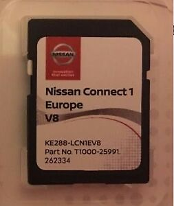 GENUINE-NISSAN-CONNECT-1-LATEST-SAT-NAV-LCN1-SD-CARD-V8-2017-2018-MAPS