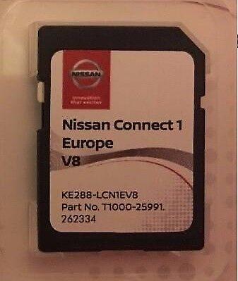 2018 v8 nissan connect 1 sd card europe maps lcn1 sat nav. Black Bedroom Furniture Sets. Home Design Ideas