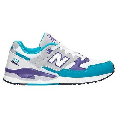 New Balance Women's 530 '90s Remix Casual Shoes, White/Teal/Purple,  W530AAA, 8M | eBay