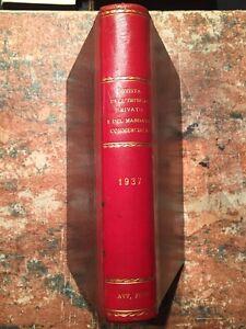 Rivista-dell-039-impiego-privato-e-del-mandato-commerciale-12-numeri-Anno-12-1937