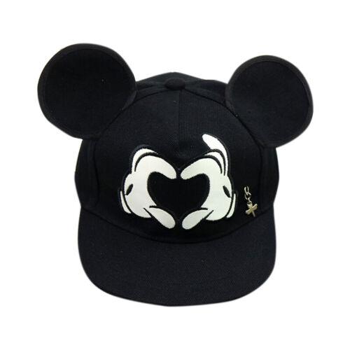 Enfant Garçons Dessin Animé Mickey Mouse Hip Hop Casquette Baseball Snapback