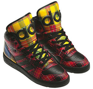separation shoes 7eb0b 978cd Image is loading Adidas-Originals-Men-039-s-Jeremy-Scott-Instinct-