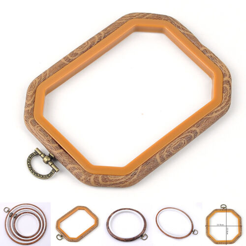 8 Size Wood Frame Embroidery Hoop Ring Round Loop Cross Stitch Sewing Hand tool