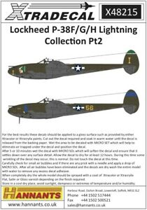 Xtradecal-1-48-Lockheed-P-38F-G-H-Lightning-Collection-Piece-2-48215
