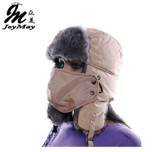 613505db Details about AKIZON High Quality winter Warm Proof Trapper Hat Women  aviator hat Solid color