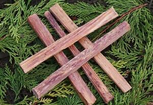 5-x-Maya-Fatwood-Zunder-firelighting-Sticks-Bushcraft-Survival-BBQ-Camping