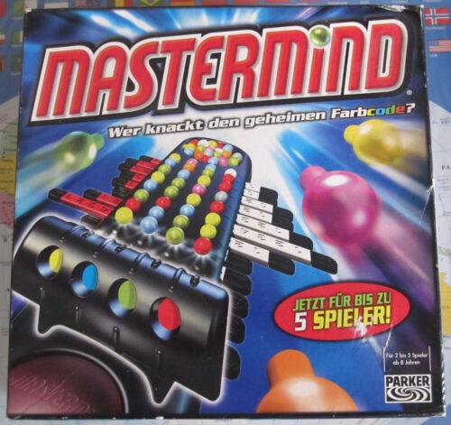 1 von 1 - Mastermind Spiel von Hasbro Parker bis zu 5 Spieler
