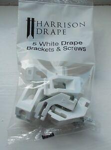 Harrison-Drape-pista-soportes-Pack-5-Nuevo