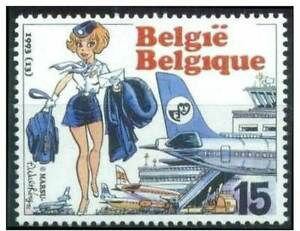 Belgie**NATACHA AIRHOSTESS NATASJA-COMICS-Bande Dessinée