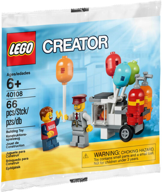 LEGO Creator 40108 Balloon Cart - Brand New!!