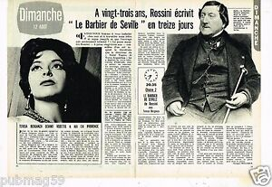 Coupure de Presse Clipping 1973 (2 pages) Rossini le Barbier de Seville W7WopTl5-08123941-807506371