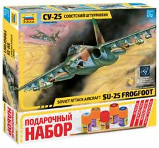 Zvezda SU-25 1:72 Scale Model Kit with Frogfoot Decals