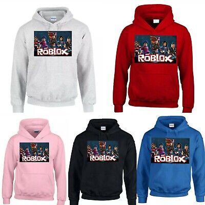Boys Kids Childrens Girls Roblox Gaming Hoodie Hoody Royayebehesht Ir