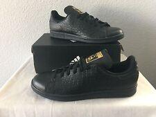 item 6 New Adidas Stan Smith Black/Gold