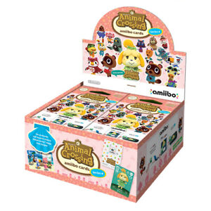 Animal Crossing amiibo Cards Series 4 (42 Pack) *Brand New*
