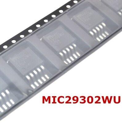 New 2Pcs SMD TO-263-5 MIC29302WU PMIC Voltage Regulators Linear