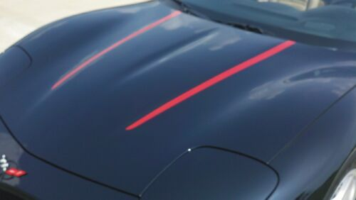 C5 CORVETTE HOOD STRIPES 97-04   *BLACK*