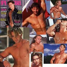 PLAYGIRL 1-95 HAIRY GREG EVIGAN CANADIAN STRIPPERS JAX STEELE JANUARY 1995 BEAU