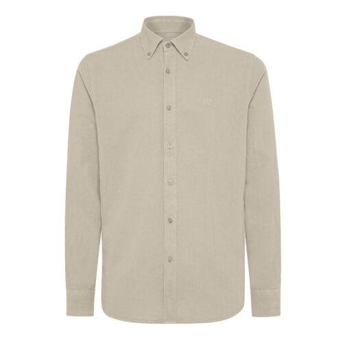 Camicia lino uomo HENRY COTTON/'S button down lunga cotone casual sportiva