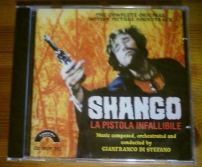 SHANGO - Soundtrack CD - Gianfranco Di Stefano (New & Sealed) Spaghetti Western