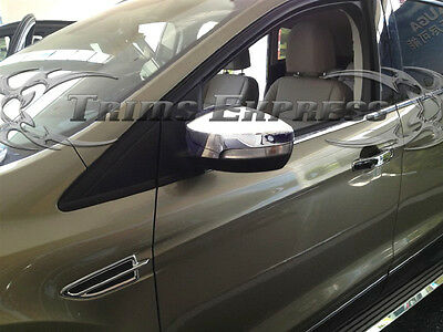 For 2013-2016  Ford Focus Escape w//turn signal ABS Chrome Top Mirror covers