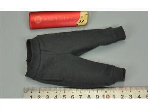 SUPERMCTOYS F-084 1//6 Scale High School Student Miles Dark Grey Joggers Model