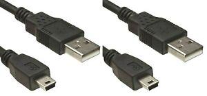 2x-Playstation-3-USB-Kabel-Controller-Ladekabel-Kabellaenge-1-8-Meter