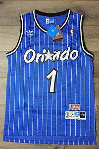 wholesale dealer 7c41a 44672 Details about Tracy McGrady #1 Orlando Magic Jersey Swingman Classics Retro  New Blue Mens