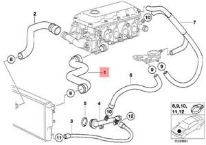 Genuine    BMW    E36 Z3 Compact Roadster Cooling System Water
