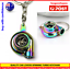 2-X-NEO-TURBO-KEYCHAIN-PISTON-RAINBOW-METAL-TURBOCHARGER-SPINNING-TURBO thumbnail 2