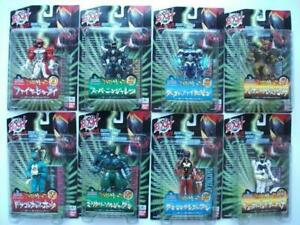 Bandai-Dual-Heroes-EXH-Extra-heroes-All-8-types-set-1997-released-from-Japan