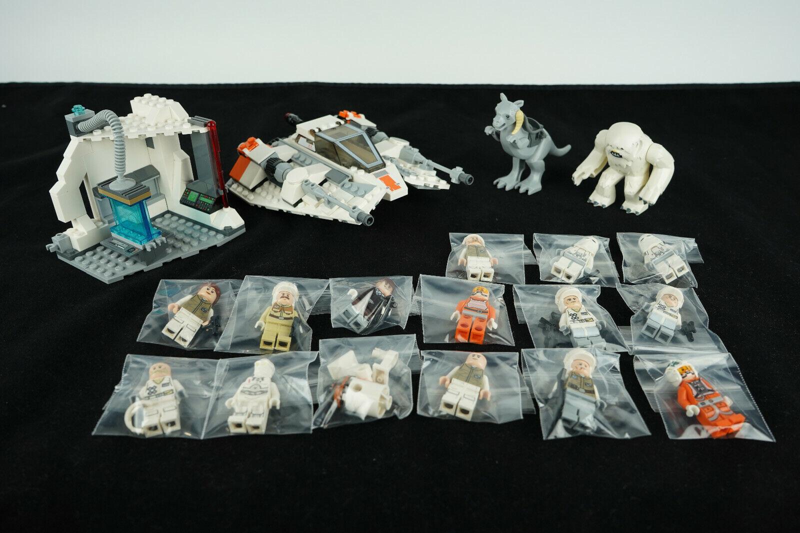 Lego Star Wars Assault On Hoth Set 75098 Mini Figures R3-A2 K-3PO Snowspeeder