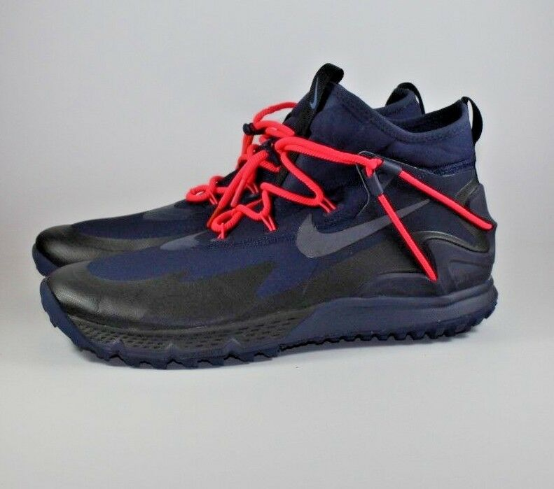 Nike Terra Sertig Hiking Boot Obsidian Black-Dark Obsidian 916830-400 Size 12