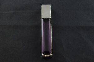 100% Vrai Chic Pendentif En Argent Sterling W Longue Violette Pierre - 24 G-afficher Le Titre D'origine Marchandises De Proximité
