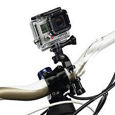XAiOX vibrations gedämpfte GoPro 1, 2, 3, 4 Fahrrad Bike Halterung in schwarz