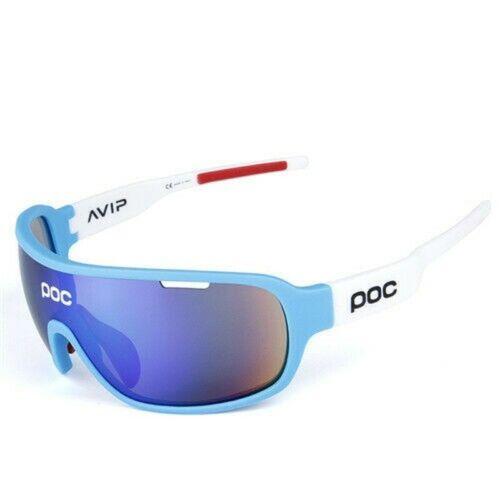5 Pieces POC Sunglasses Polarized Cycling Glasses Sports Glasses Glasses 2020 NE