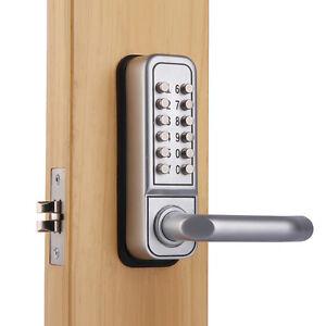 Mechanical Keypad Security Digital Code Door Lock Push ...
