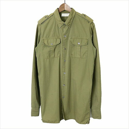 FAITH CONNEXION 15AW Big silhouette Military Shirt