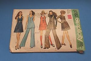VTG-1960-039-s-Simplicity-Sewing-Pattern-8382-Size-10-Bust-32-1-2-Missing-Guide