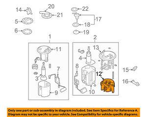 subaru oem 09 13 forester 2 5l h4 fuel filter 42072ag140 ebay  image is loading subaru oem 09 13 forester 2 5l h4