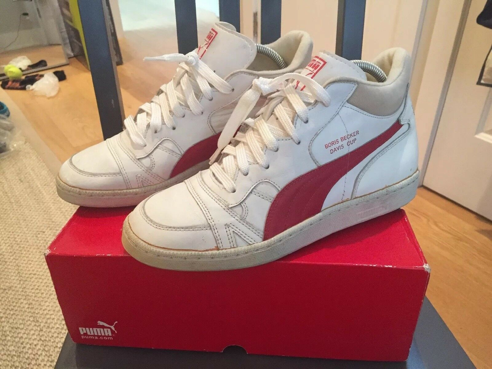 Puma West Germany Vintage VTG 1986 Boris Becker Tennis shoes