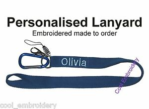 Personalised-Embroidered-Lanyard-Made-to-order-Colour-font-choice