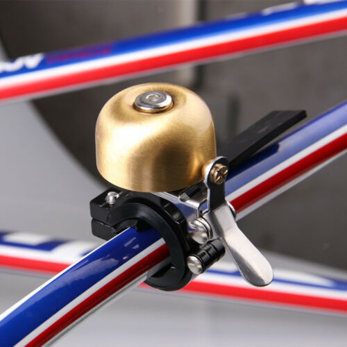 Lightweight Bike Bell Copper Brass Mini Bicycle Bell Ring for Kids and Adults