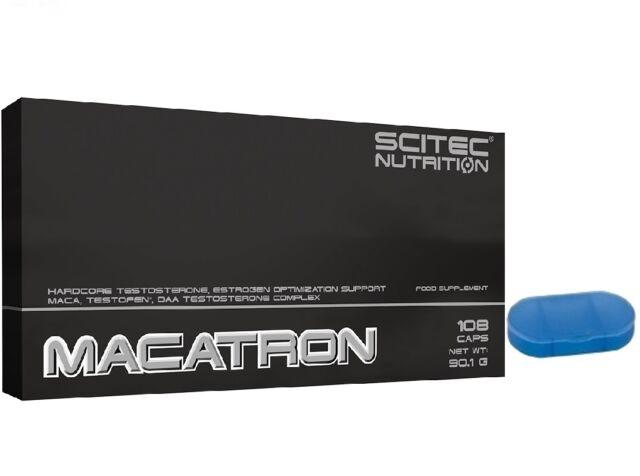 MACATRON 108caps SCITEC NUTRITION Aumento de testosterona 13 ingredientes