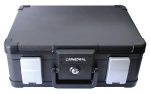 Cathedral-DSBA4-A4-Fire-and-Waterproof-Deed-Box-Black