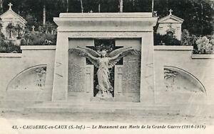 Carte-CAUDEBEC-EN-CAUX-Le-Monument-aux-Morts-de-la-Grande-Guerre-1914-1918