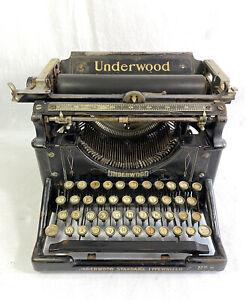 Typewriter underwood model 5 vintage typewriter 1905