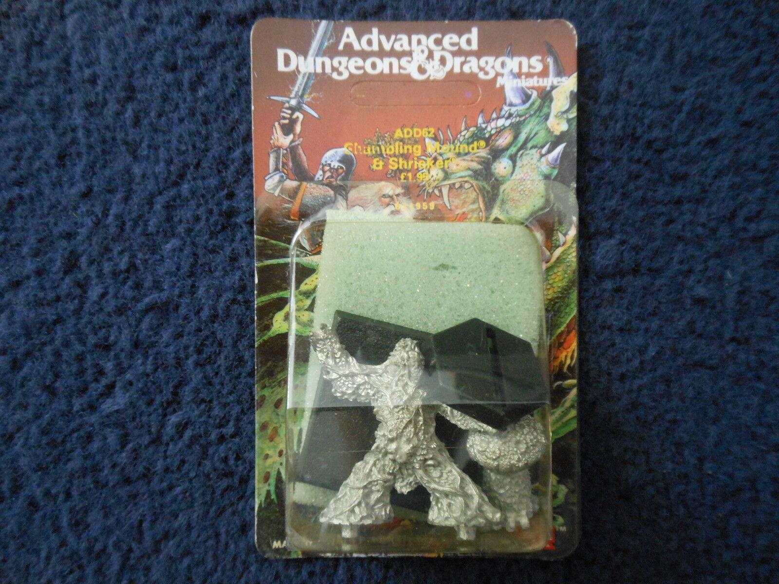 1985 ADD62 comique mound & Shrieker b advanced dungeons & dragons citadel mib